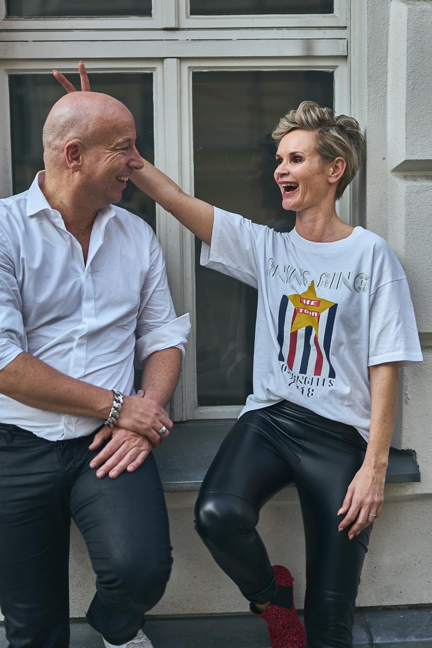 Die Founder der XU Group in Berlin Christopher Jahns und Nicole Gaiziunas Jahns privat