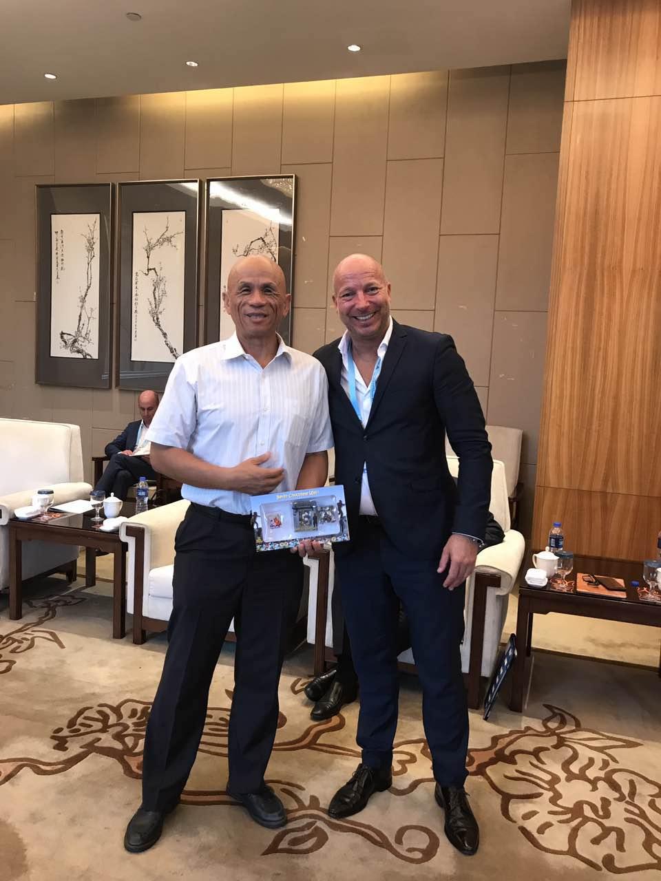 Chinabesuch bei Min Zhu 2017