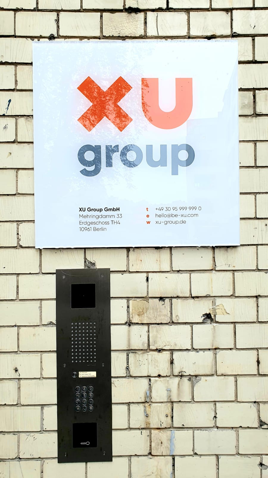 Der Standort der XU Group in Berlin