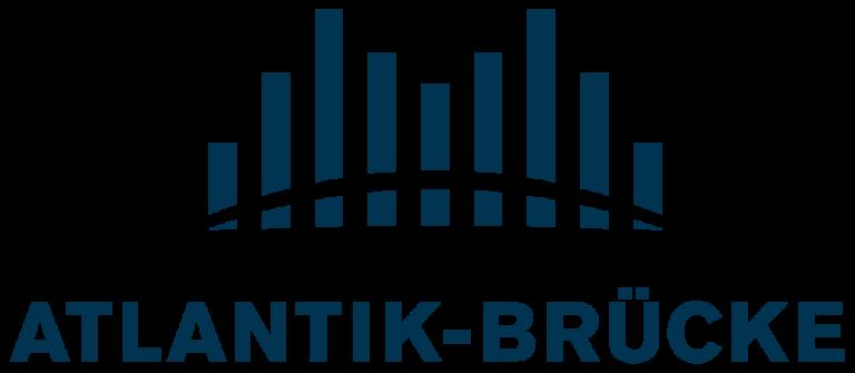 Das Logo des Vereins Atlantik-Brücke in Berlin