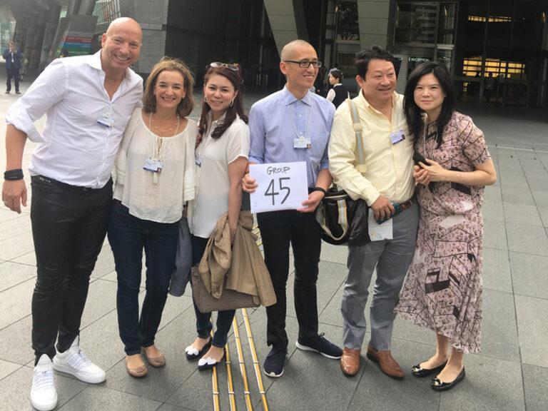 Gemeinsam mit Alumni der YGL aus Singapur, Japan und den USA 2016 in Tokio